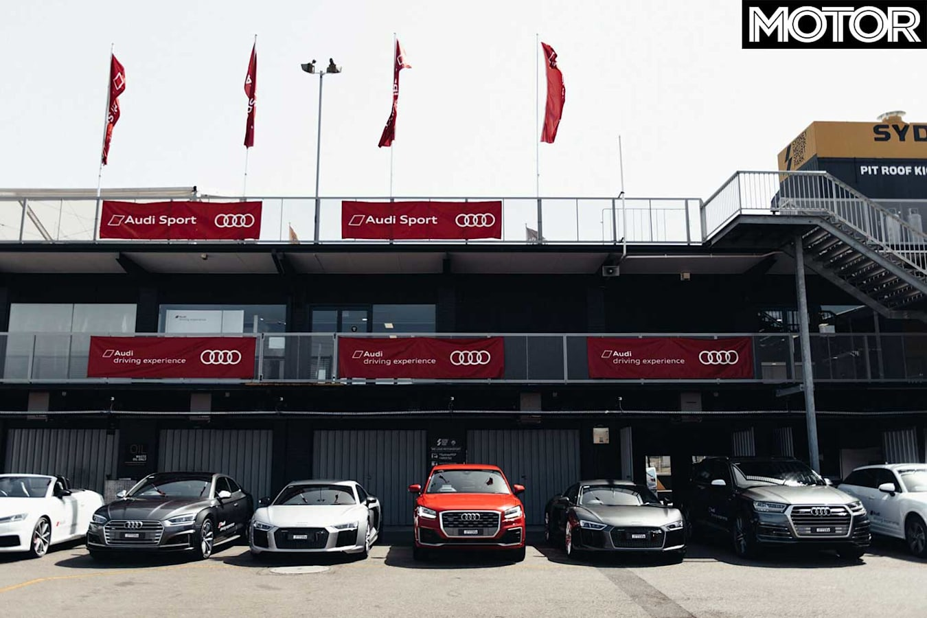 Audi Advanced Driving Experience Line Up Jpg
