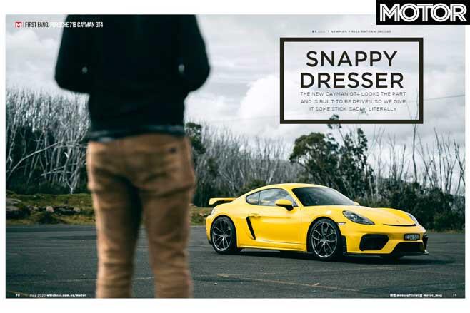 MOTOR Magazine May 2020 Issue Cayman GT 4 Jpg