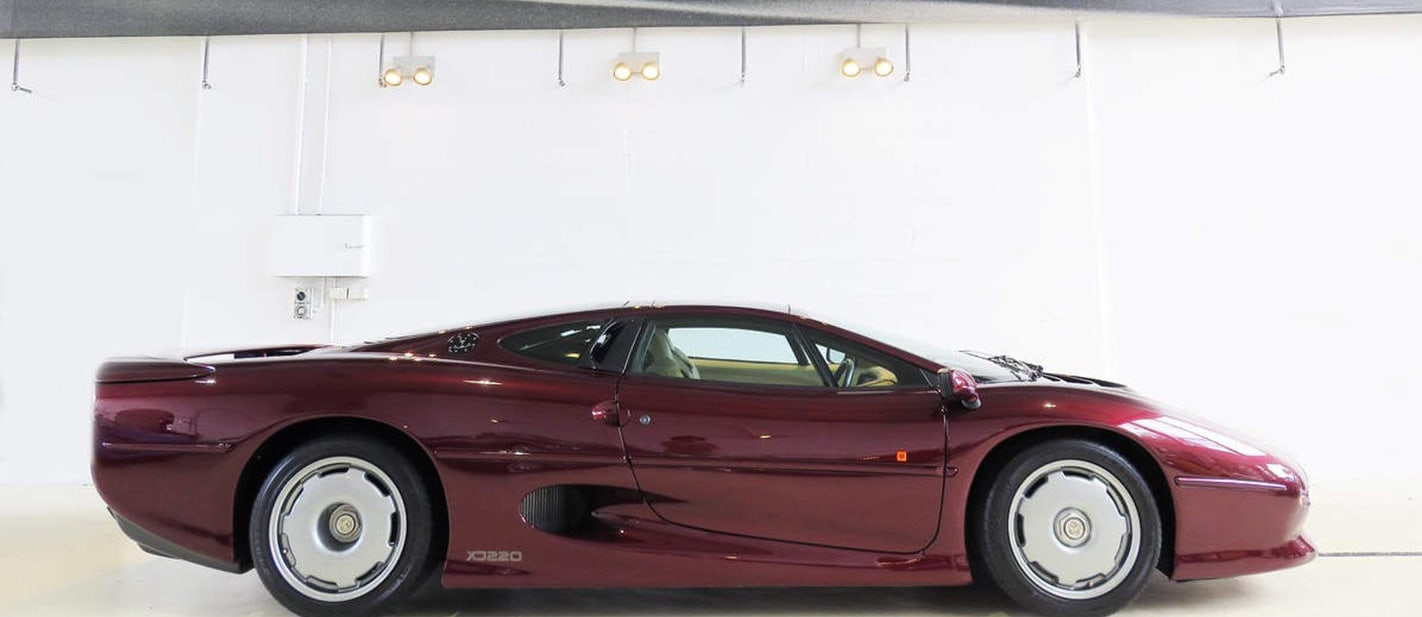Remain calm: a real Jaguar XJ220 is for sale in Australia