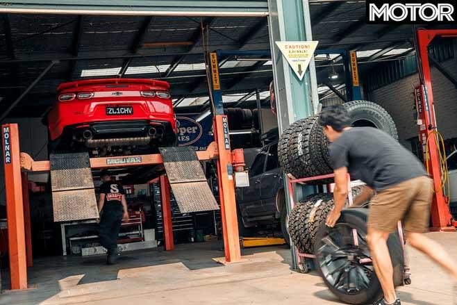 Chevrolet Camaro ZL 1 Long Term Review Update 1 Tyre Fitment Jpg