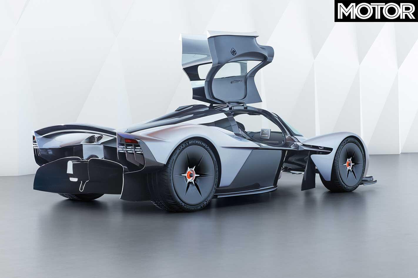 Aston Martin Valkyrie Rear Prototype Jpg