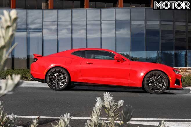 2019 Chevrolet Camaro ZL 1 Side Profile Jpg