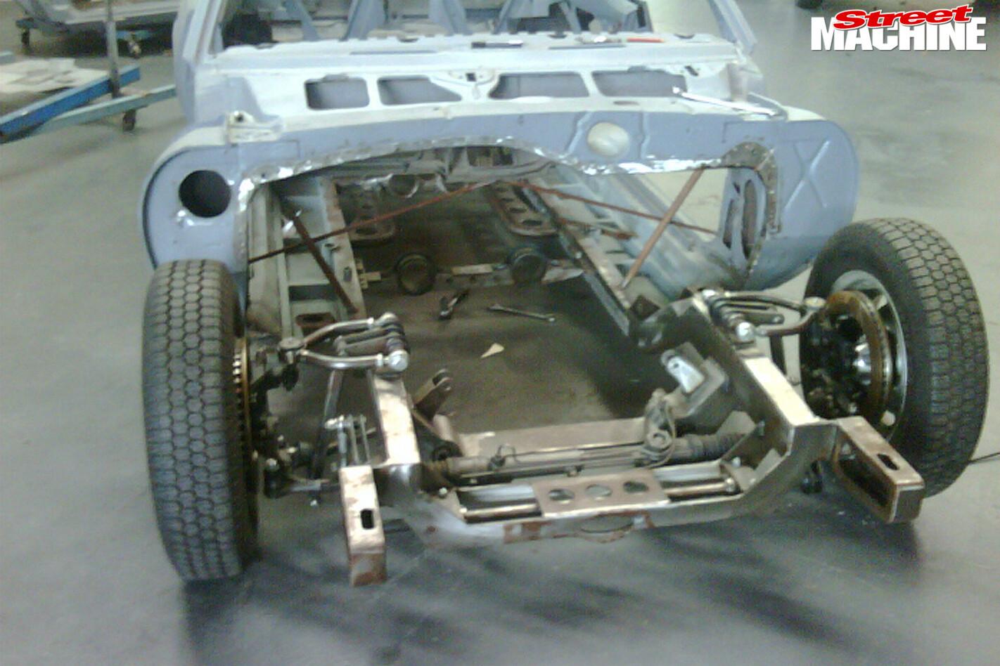 Camaro -chassis