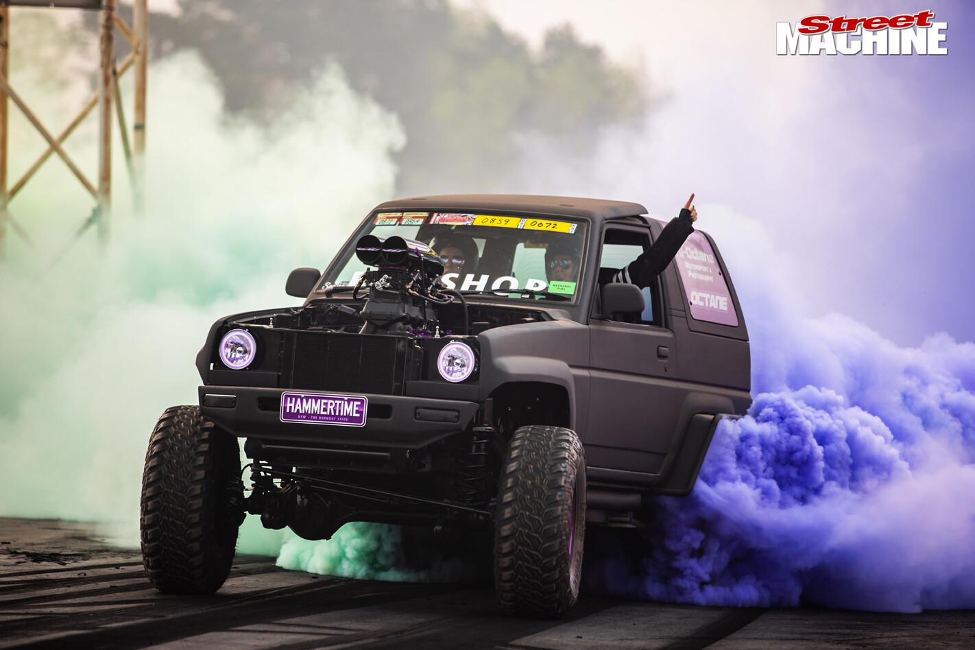 HAMMERTIME burnout Daihatsu 4wd