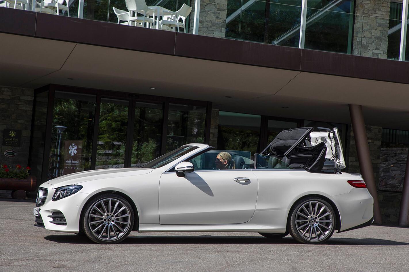 Mercedes E Class Cabriolet Roof Mechanism Jpg