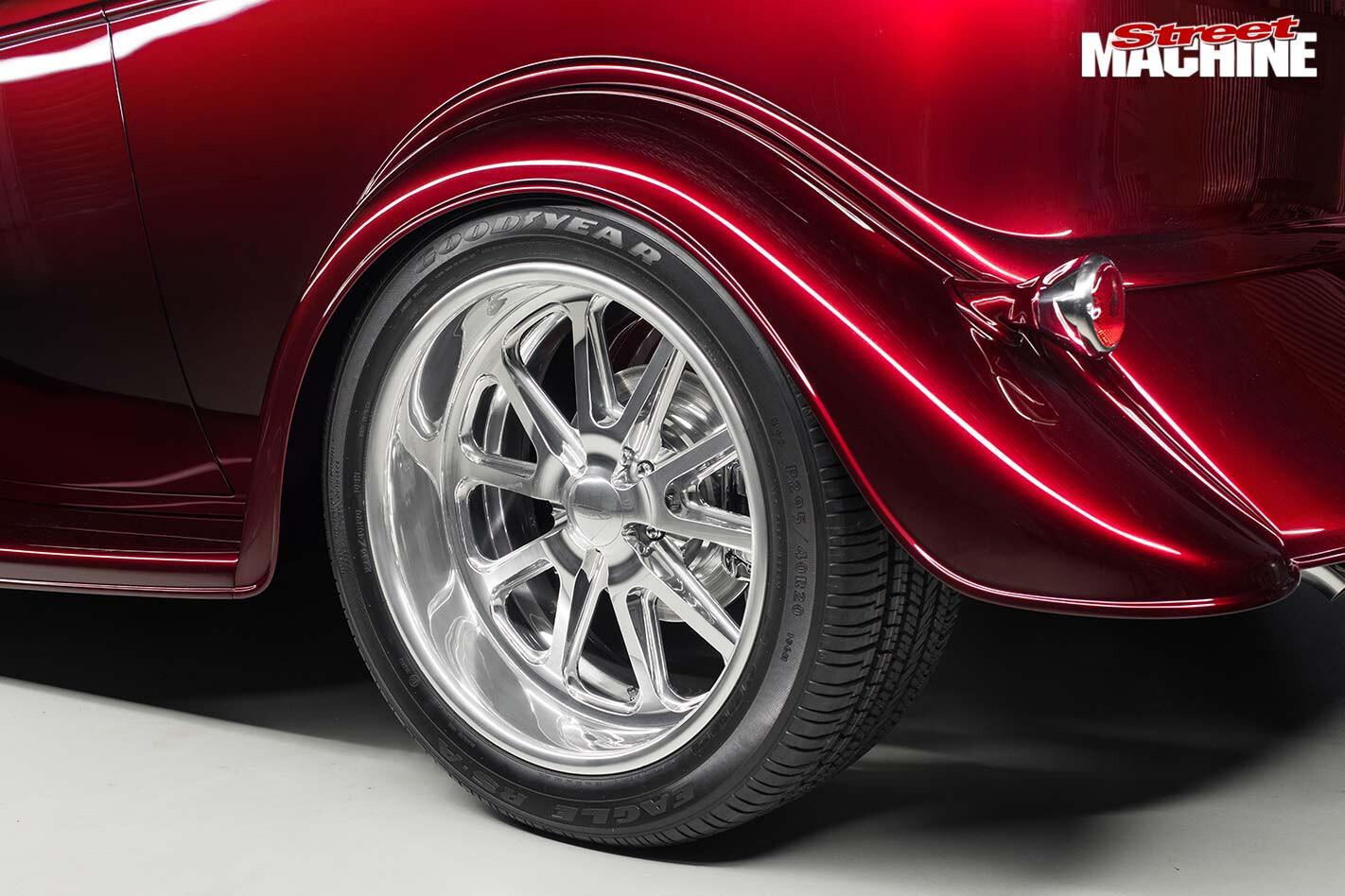 Ford Tudor wheel