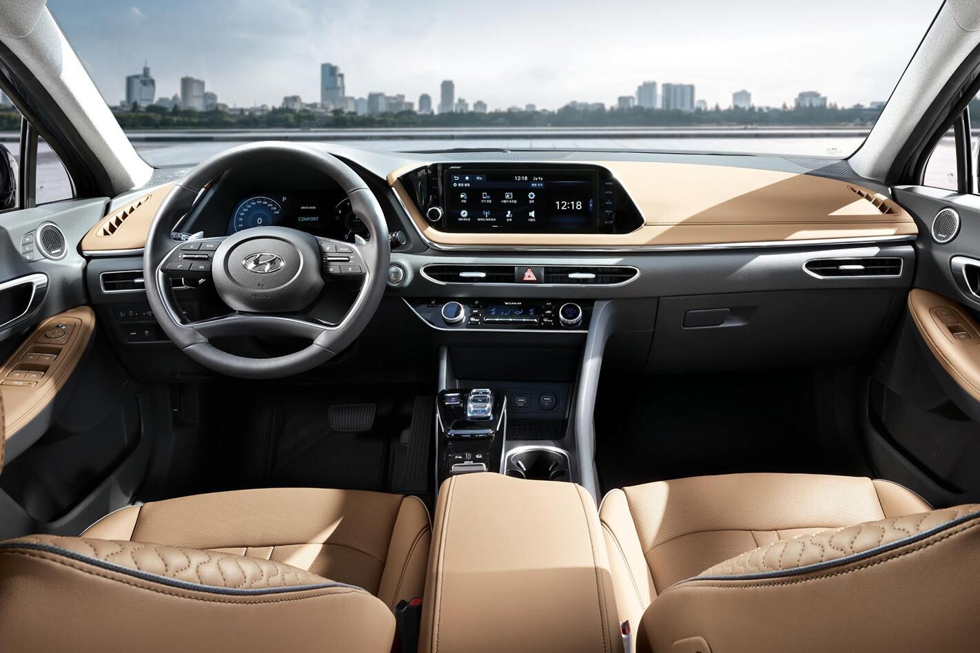 Hyundai Sonata Interior Jpg
