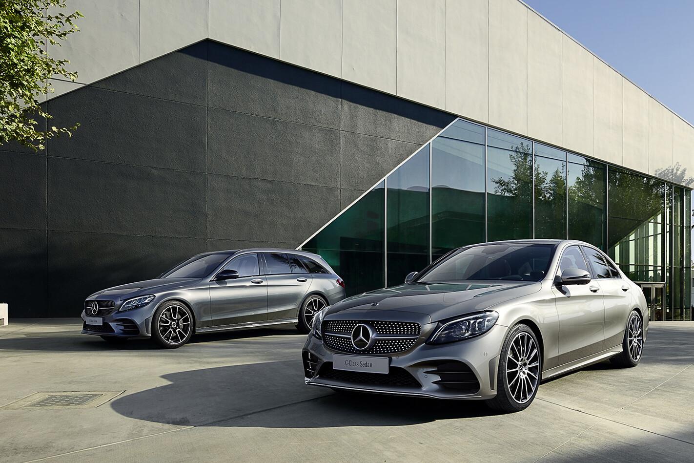 Mercedes-benz c-class sedan and estate