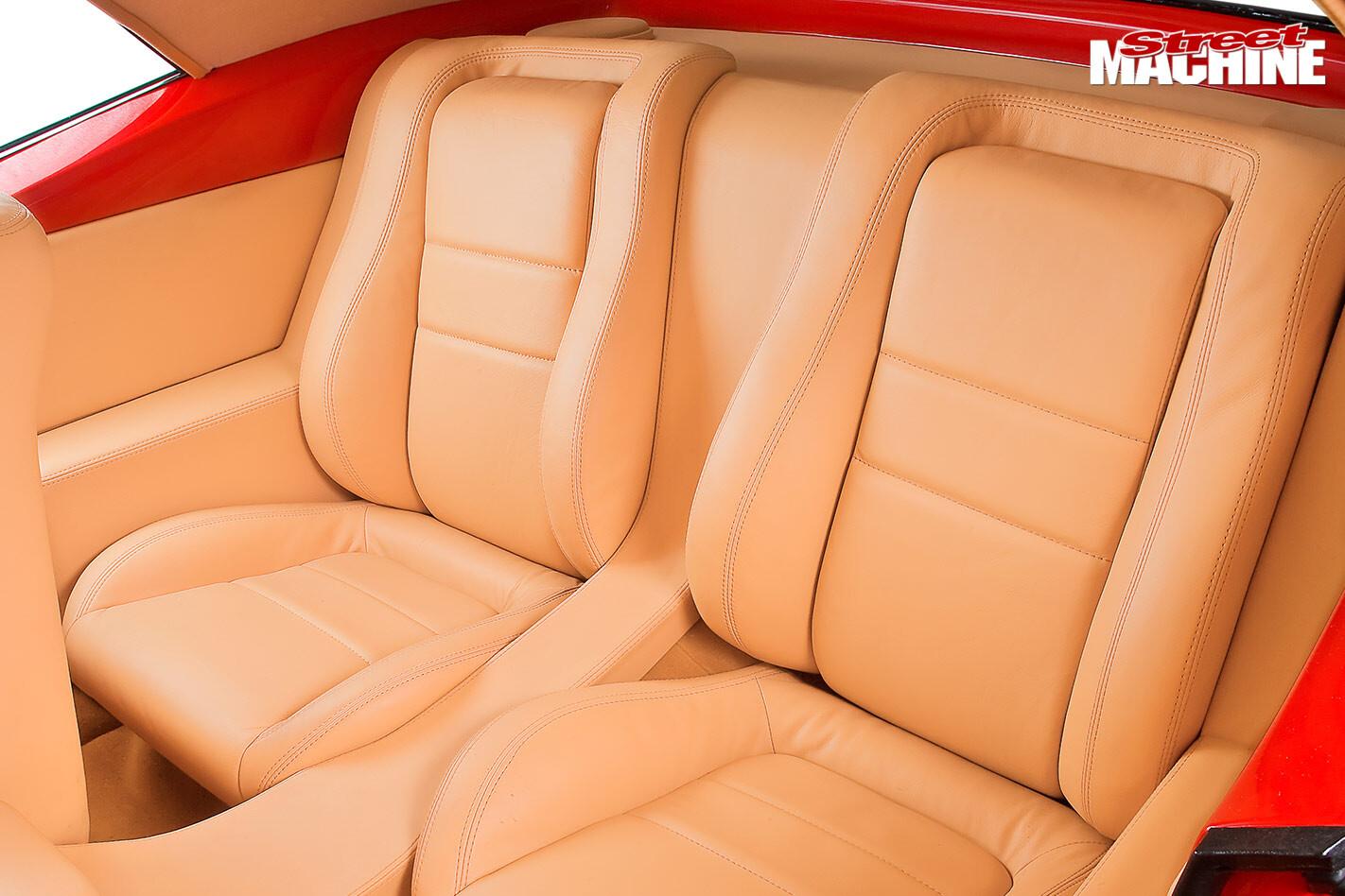Chevrolet Camaro rear seats