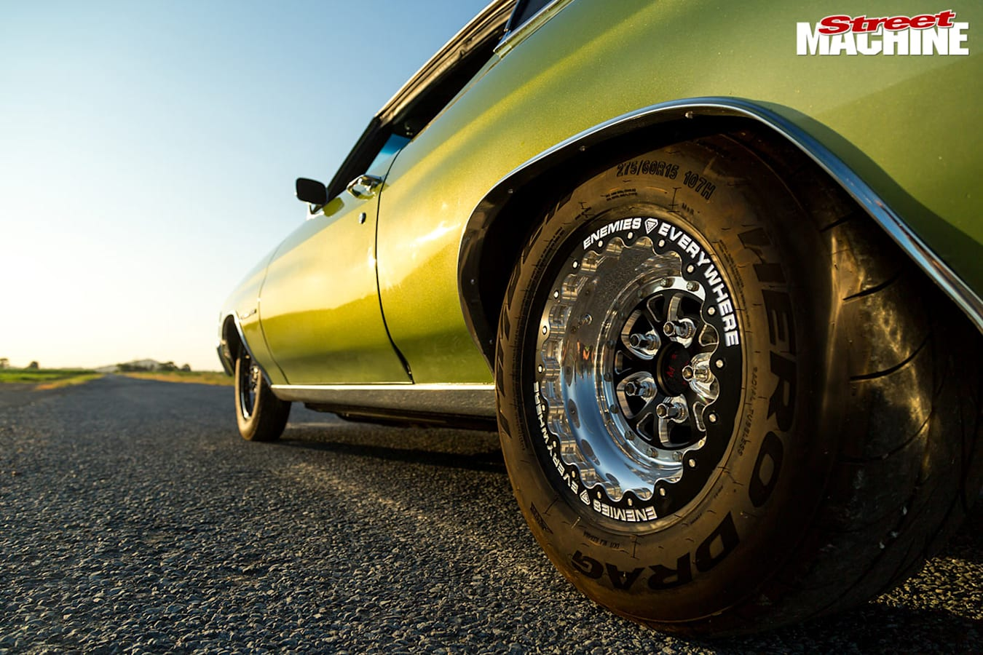 Chevrolet Chevelle rear wheel