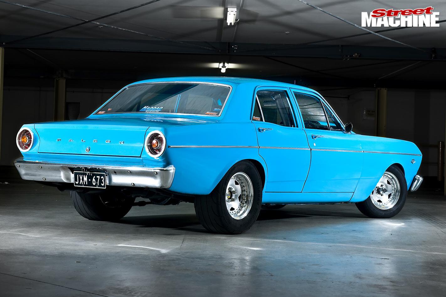 Ford XR Falcon rear