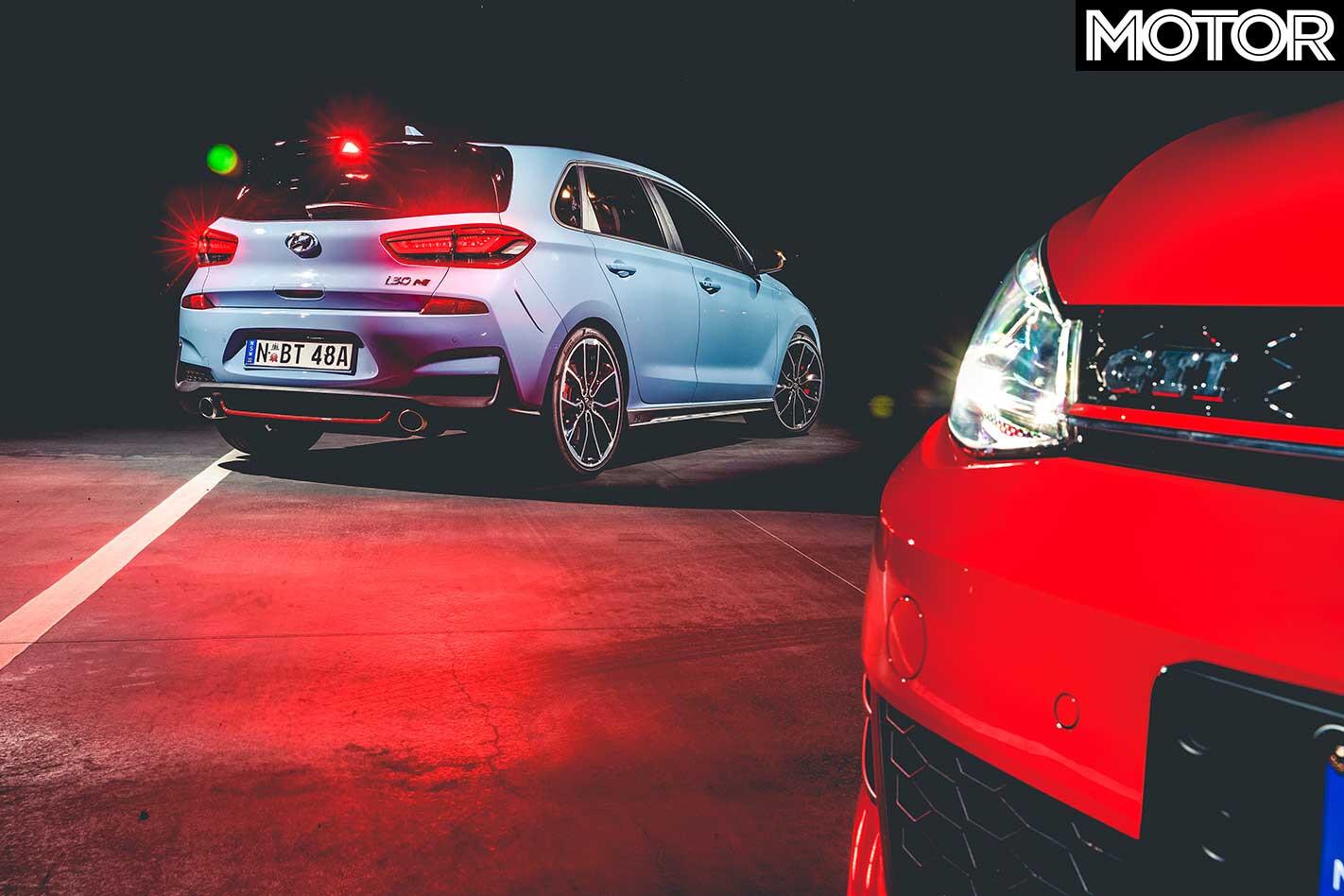 2018 Hyundai I 30 N Vs VW Golf GTI Test Drive Verdict Jpg