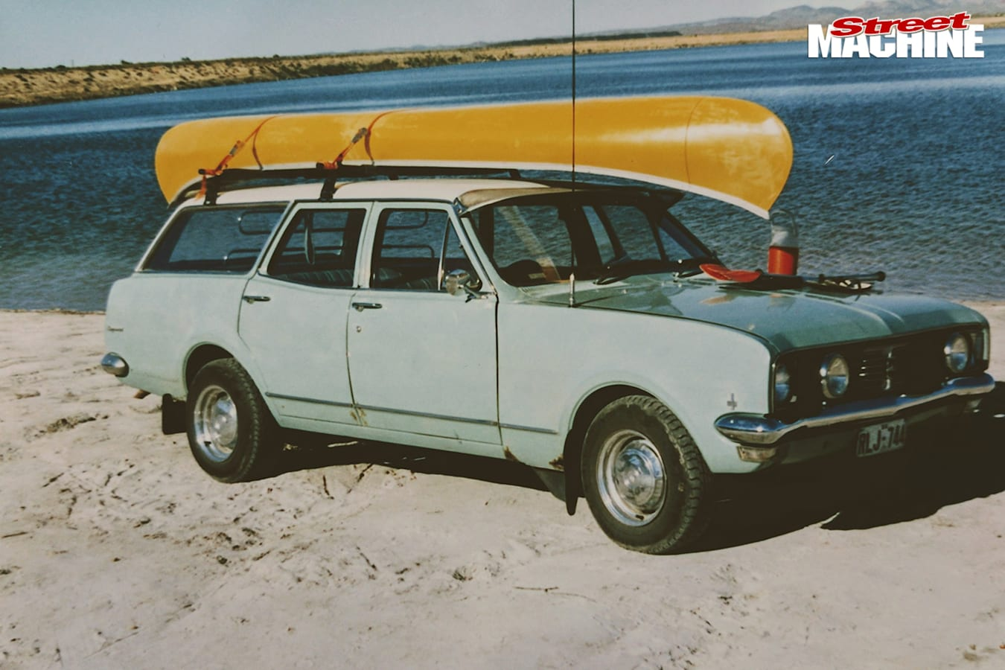 Holden HK wagon before