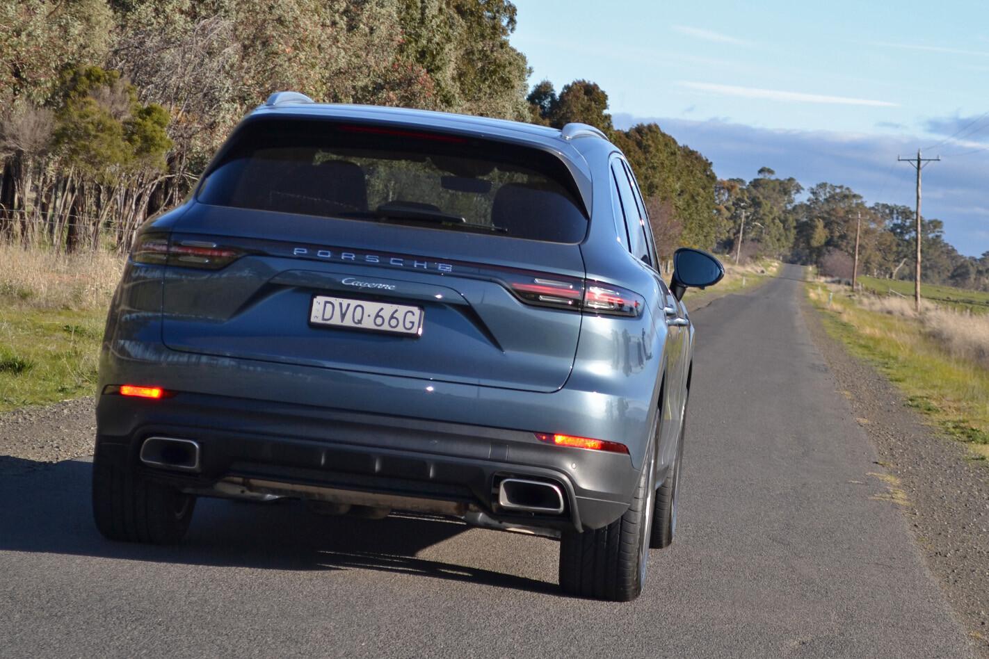 2018 Porsche Cayenne Review Rear Static Jpg