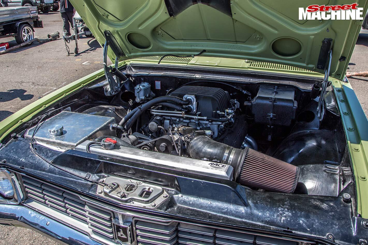 Holden Kingswood engine bay
