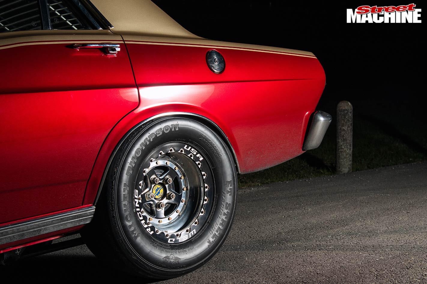 Ford XR Fairmont wheel