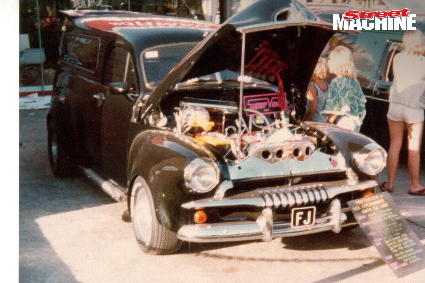 Neil Dieckmann's FJ Holden panel van