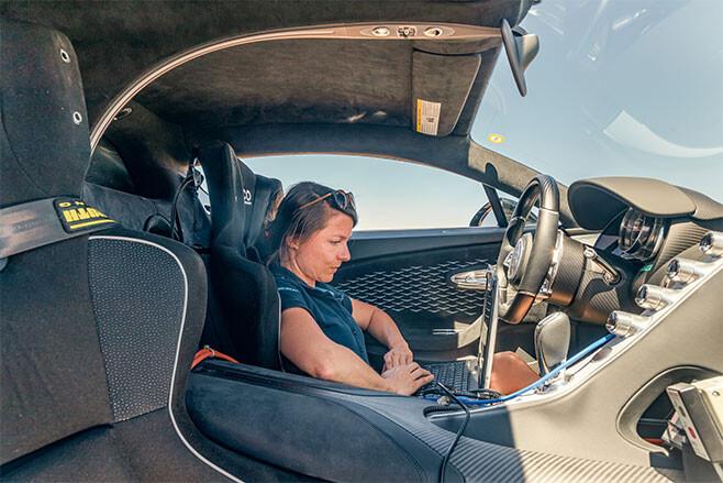 Bugatti Chiron Dr Julia Lemke