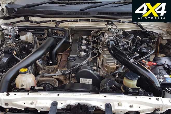 Toyota Hilux Budget Tourer Build Engine Jpg
