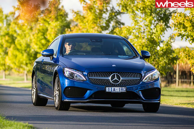 Mercedes -C-Class -Coupe -front