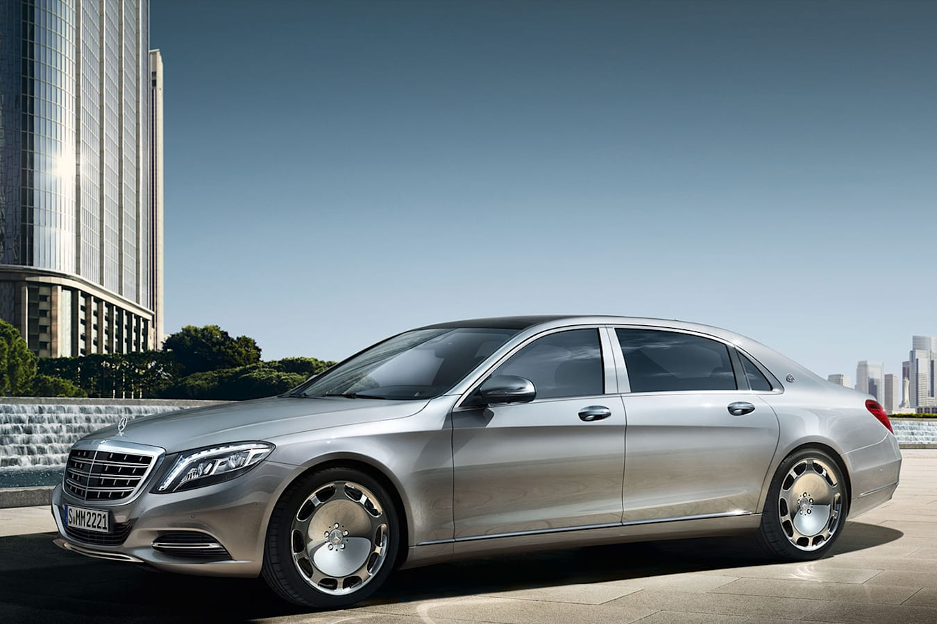 Mercedes Maybach S 600 Front Side Jpg