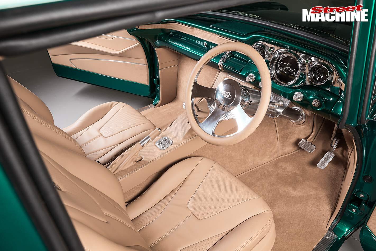Holden FB interior front