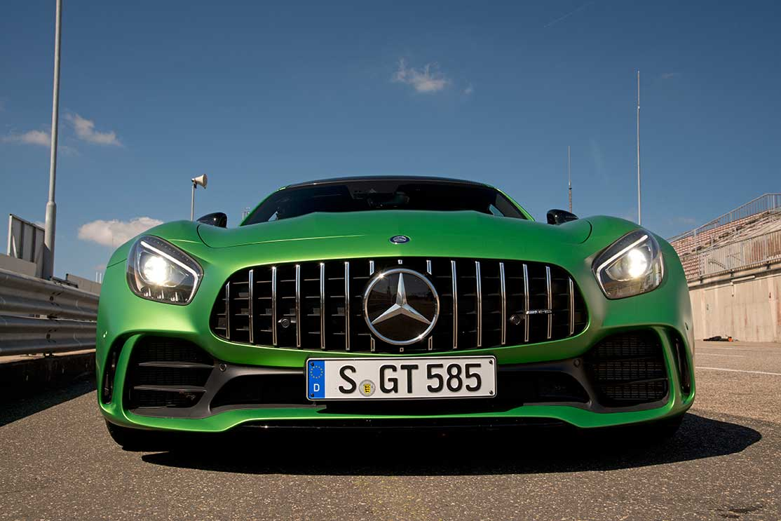 Amg -gt -front