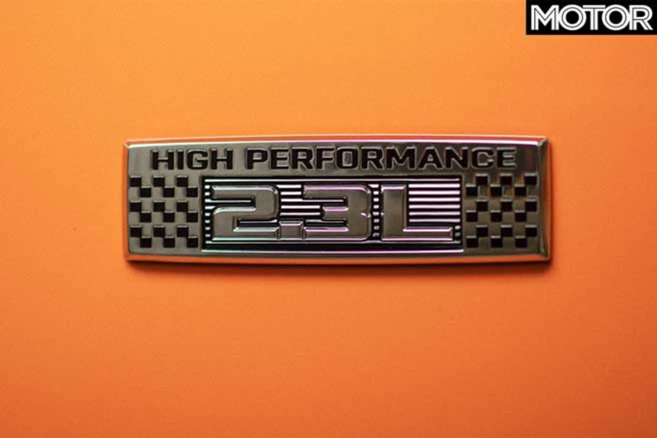 2020 Ford Mustang 2.3L High Performance badge