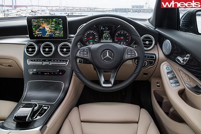 Mercedes -Benz -GLC-interior -steering -wheel