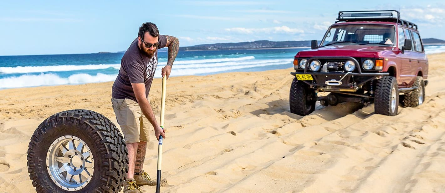 Recovery guide: Spare Tyre Ground Anchor