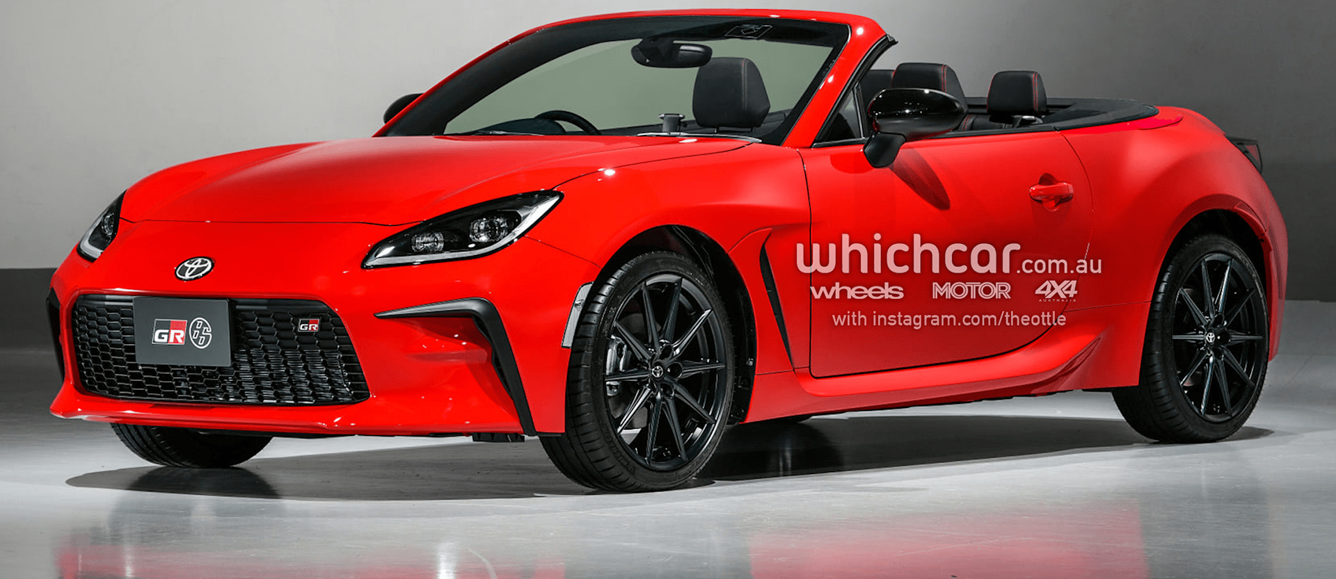 2022 Toyota Gr 86 Convertible Theophilus Chin 2 Png