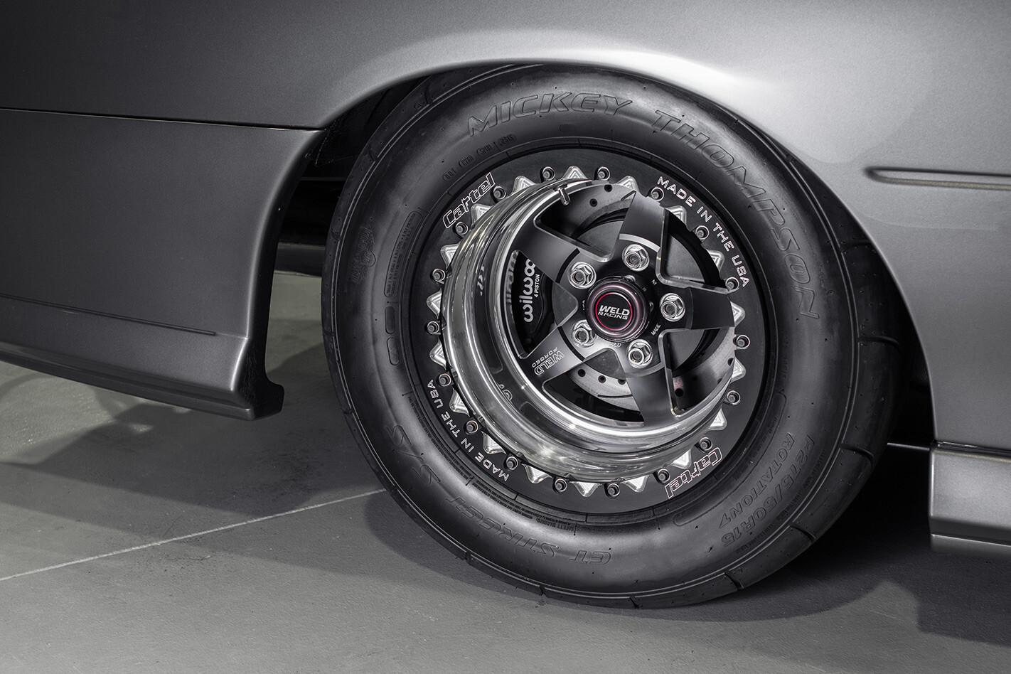 Holden VZ ute wheel