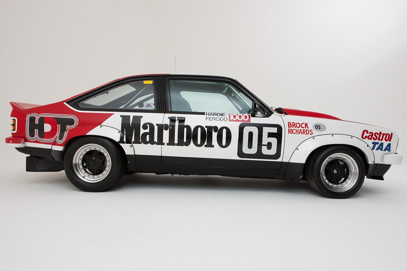 1978 HDT Torana A9X side