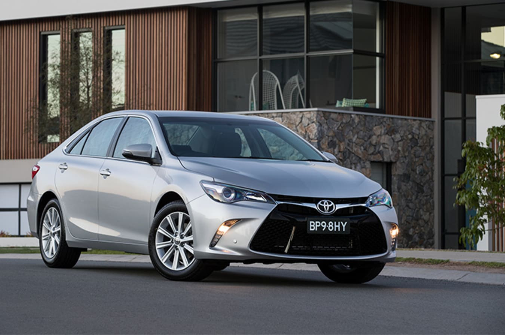 Toyota Camry Front Quarter Jpg