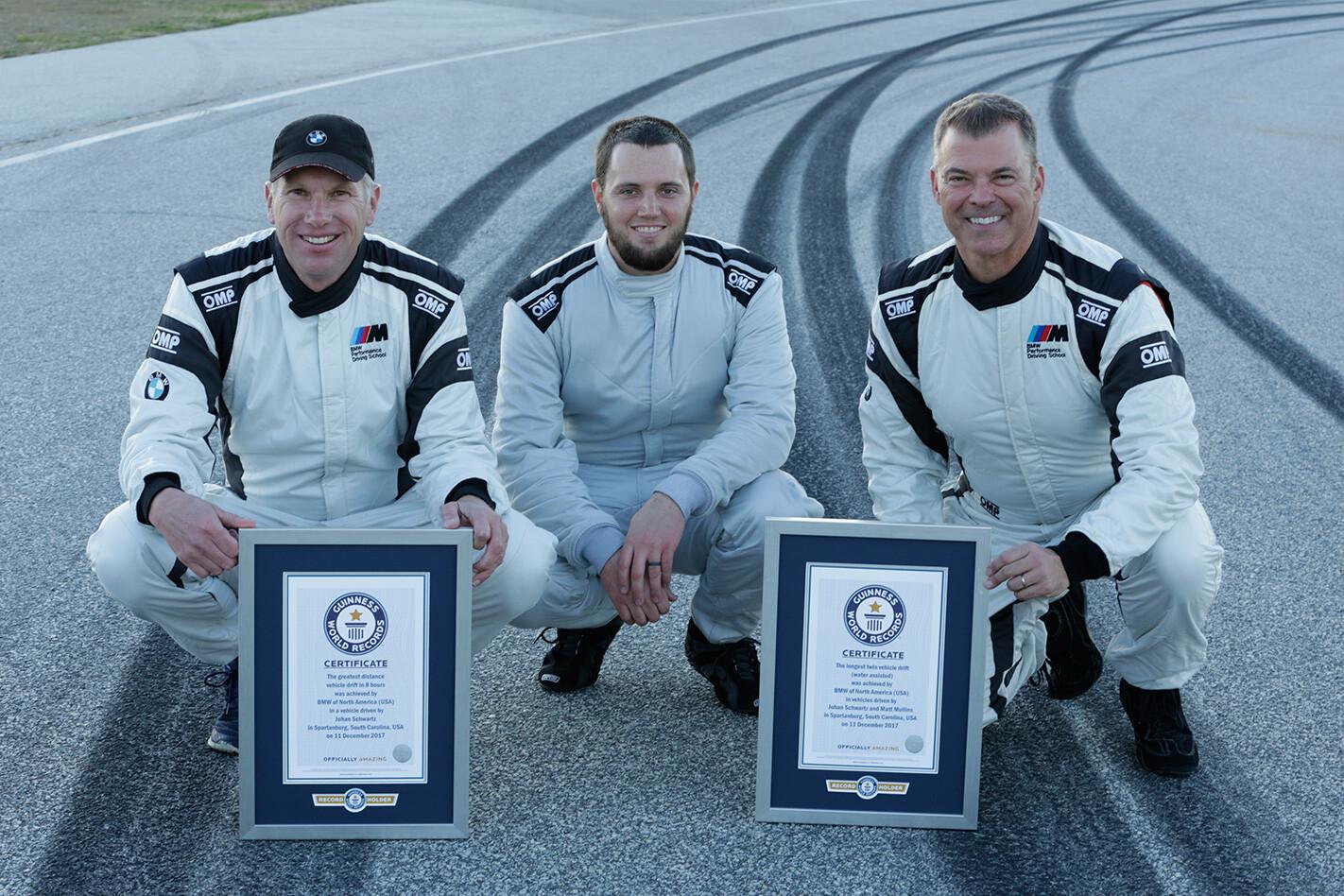 world record drift bmw