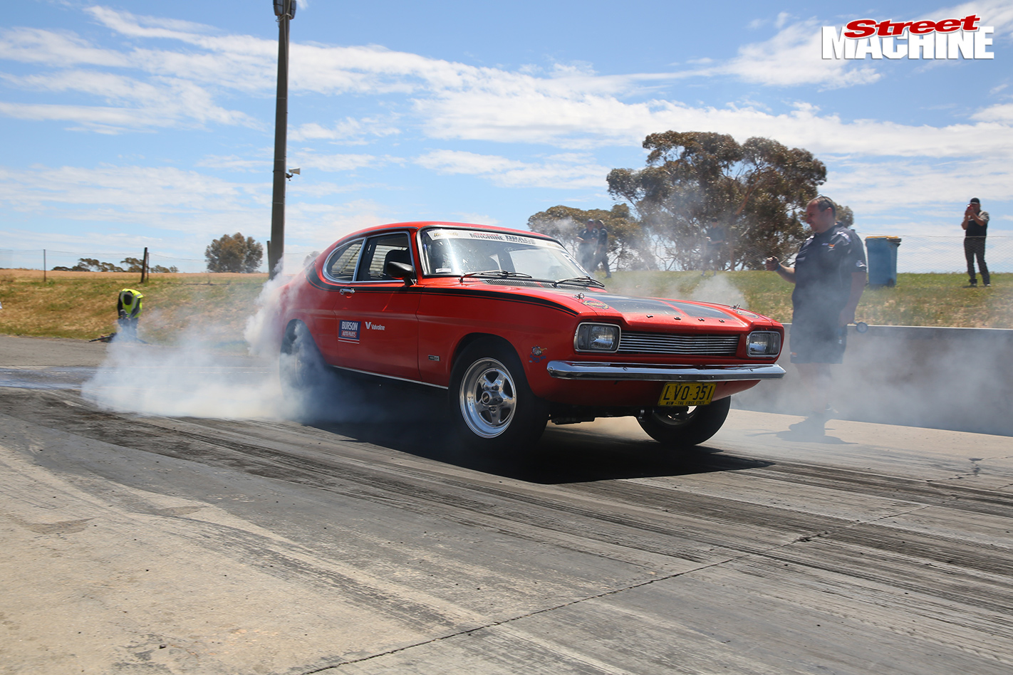 TURBO-LS-FORD-CAPRI-AND-TWIN-TURBO-LS-MITSUBISHI-EXPRESS-VAN-AT-DRAG-CHALLENGE-tyre