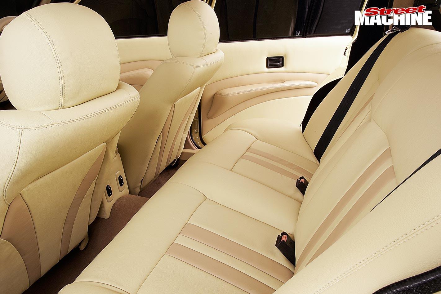 Holden Commodore VH interior rear