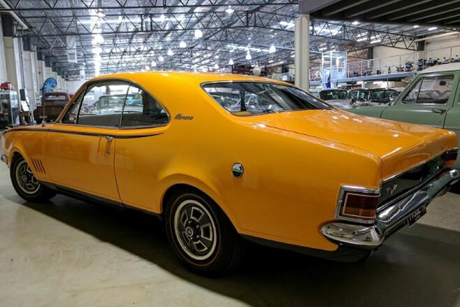 Holden Monaro rear