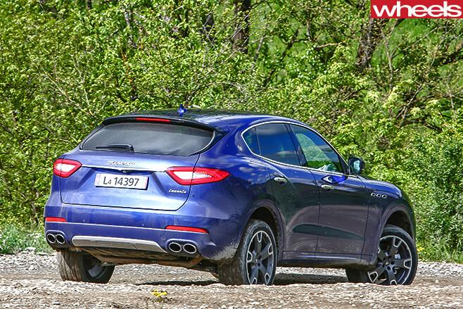 Maserati -Levante -driving -side -rear