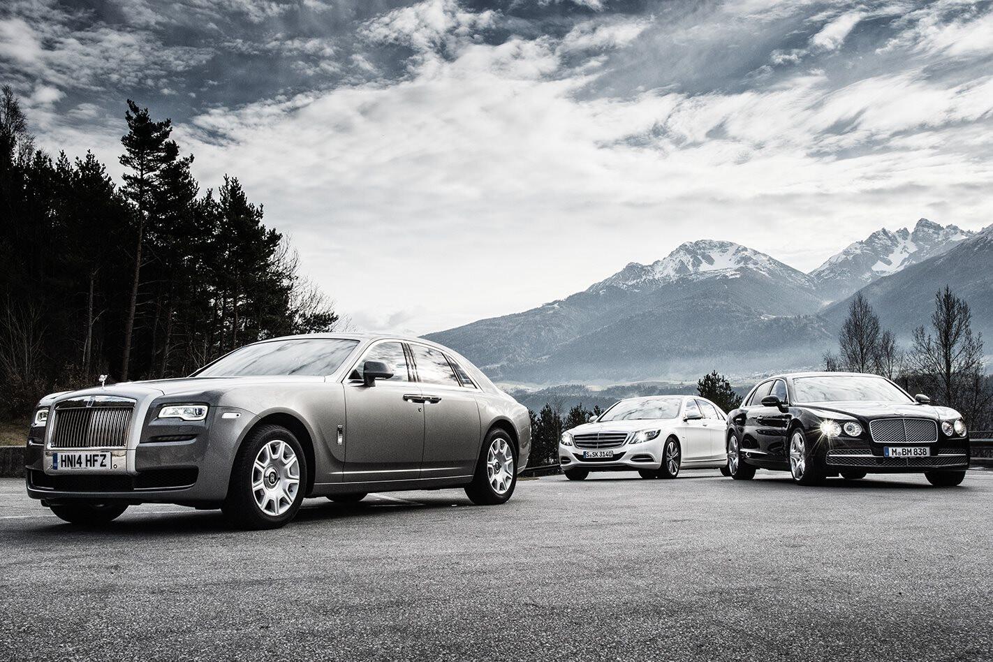 Mercedes-Benz S600 vs Rolls-Royce Ghost vs Bentley Flying Spur