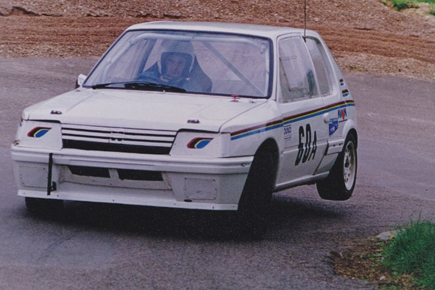 Peugeot 205 built by F1 driving