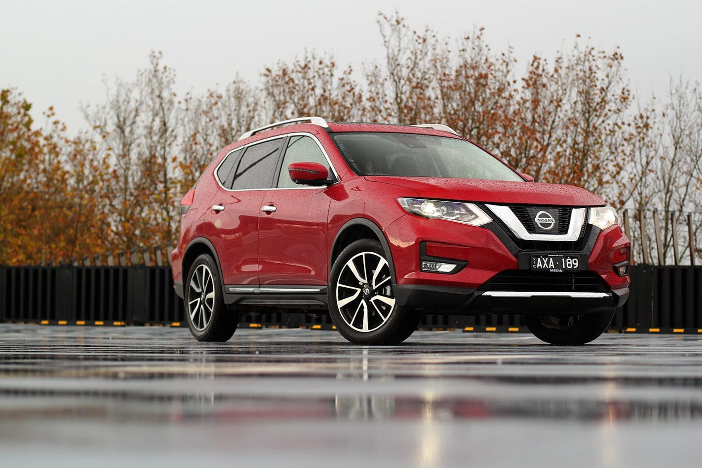 2019 Nissan X Trail Ti LT Review Front Side Head Jpg