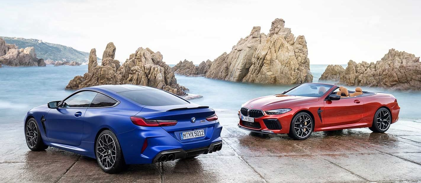 2020 BMW M8 coupe and convertible revealed