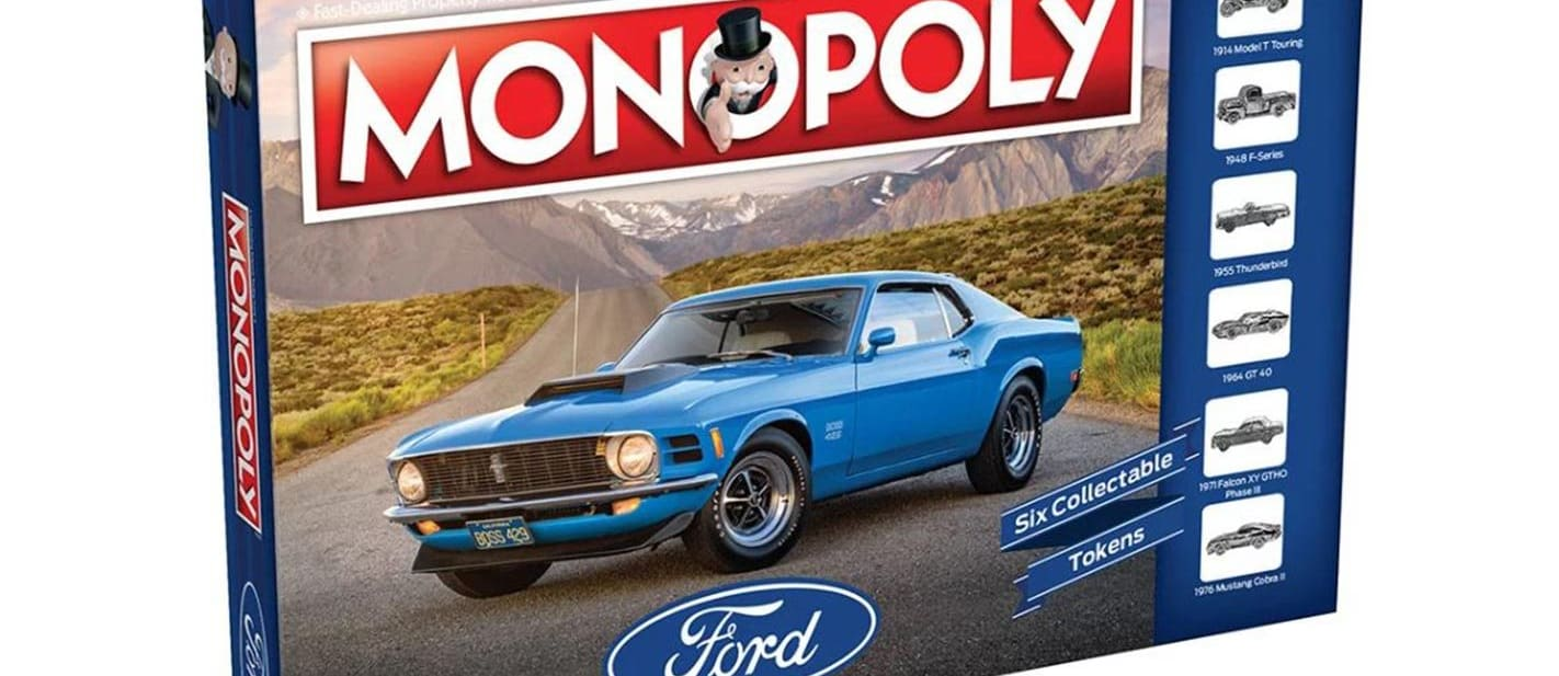 Ford Monopoly box cover
