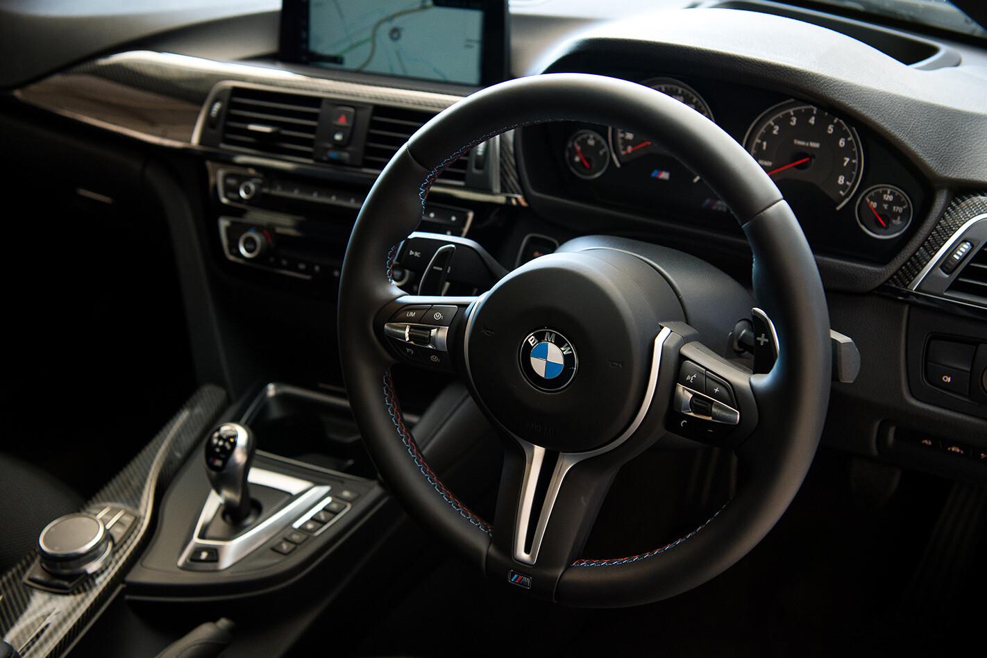 2017 BMW M3 Pure interior