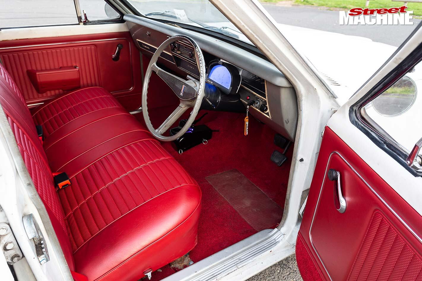 Holden HK wagon interior