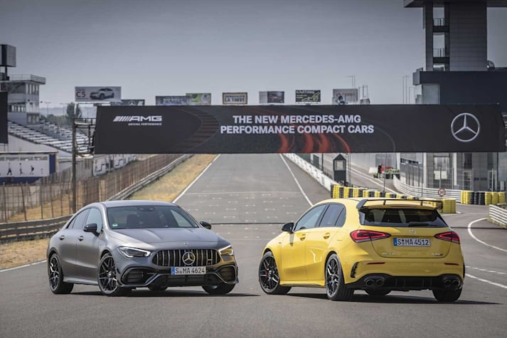 Mercedes-AMG A45 S and CLA45 S Australian pricing