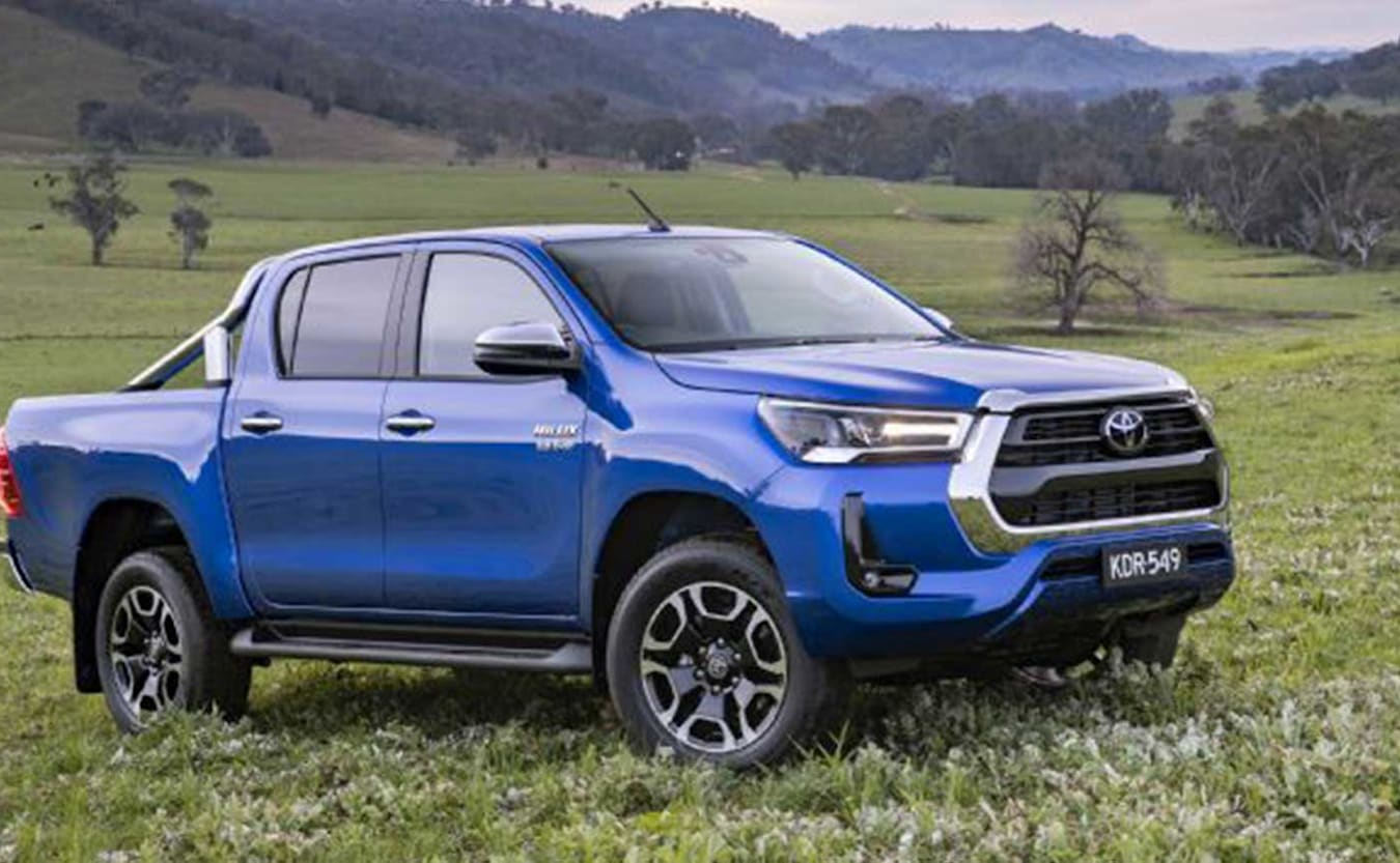 Updated 2021 Toyota Hilux