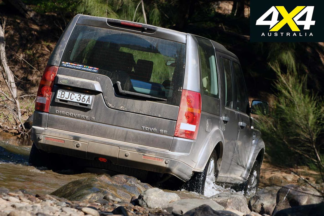 2009 Land Rover Discovery 3 Off Road Crawl Jpg