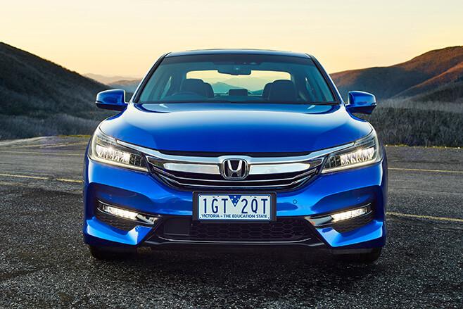 Honda Accord Blue front